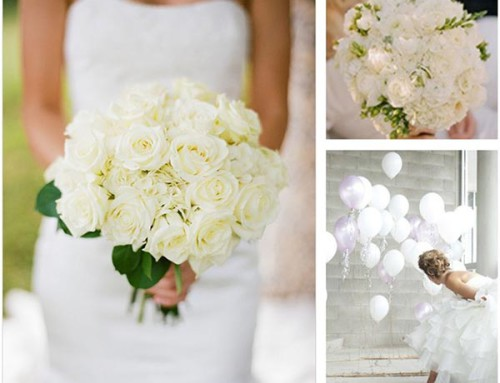 Moodboard Monday: A Classic White Wedding