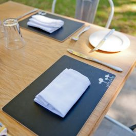 Wood - Placemats (blackboard)