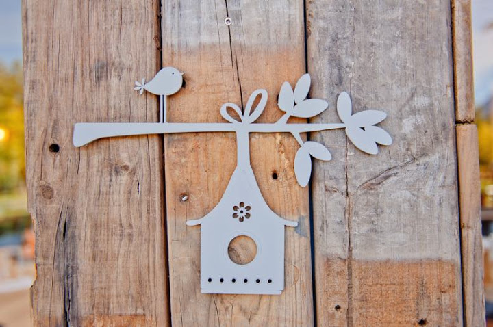 Wall Décor: Birdhouse with Branch – I Do Inspirations | Wedding ...