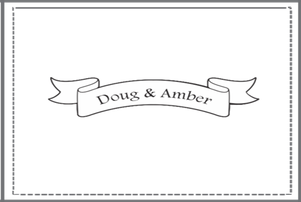 Name Banner Stamp I Do Inspirations Wedding Venues