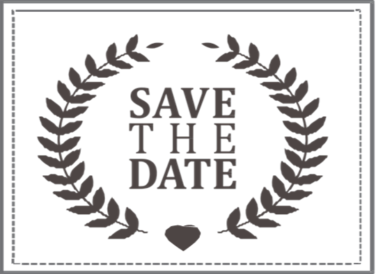 save the date stamp 4 i do inspirations wedding venues