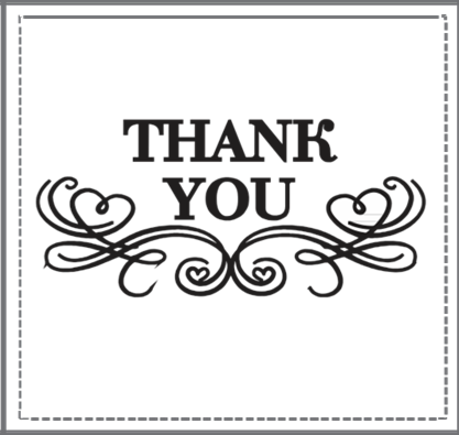 thank you stamp 2 i do inspirations wedding venues suppliers