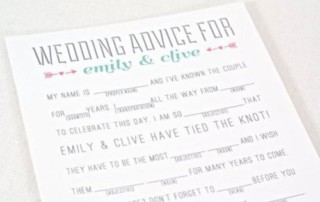 wedding fun ideas advice