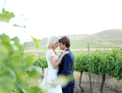 Vanessa Haywood and Ryan Sandes get hitched
