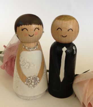 custom made wedding cake toppers south africa wooden amp groom toppers i do inspirations wedding 13222