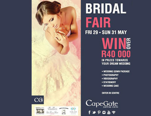 Cape Gate Bridal Fair | 29 – 31 May 2015
