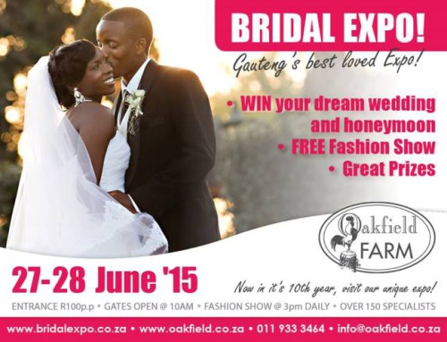 Oakfield Bridal Expo | 27 June 2015