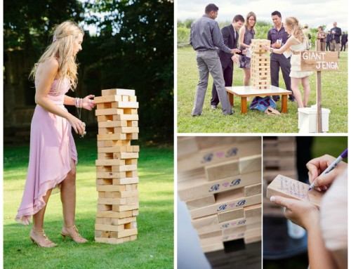 Lawn Game Fun: Giant Jenga