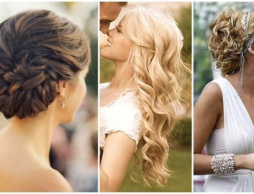 Wedding Hair: Up or Down?