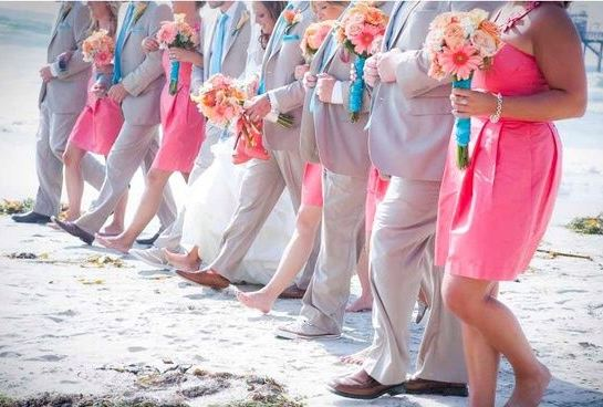 Moodboard Monday: Turquoise & Coral Wedding Inspiration