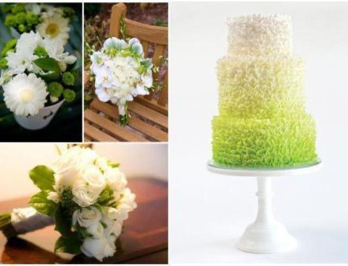Moodboard Monday: White & Lime Green Wedding Inspiration