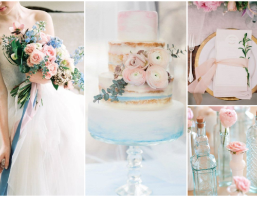 Wedding Colour Trends: Rose Quartz & Serenity