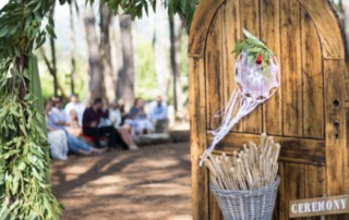 boho forest wedding south africa