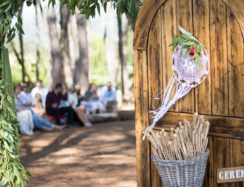 Barefoot and Boho Wedding in the Forest