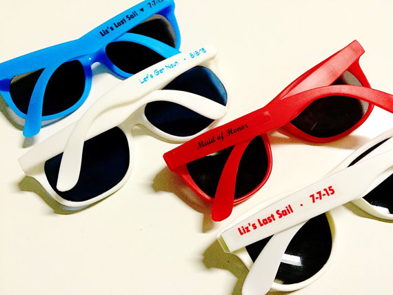 Personalised wedding sunglasses south africa 6