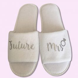 Future Mrs Wedding Slippers