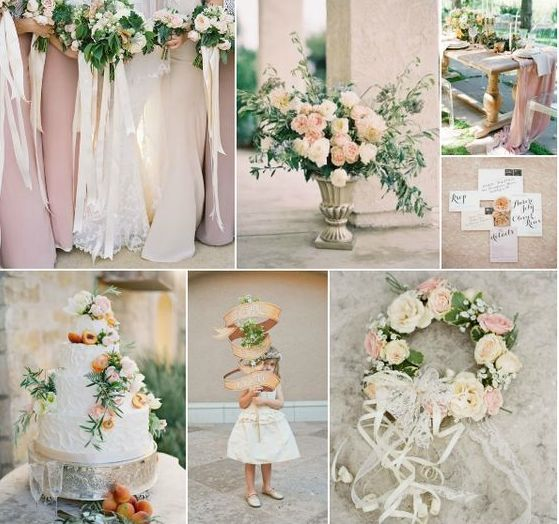 2018 Wedding Colour Combo #1: Dusty Rose & Green | I Do Inspirations ...