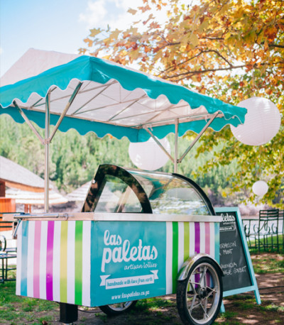 las paletas ice cream lollies wedding event hire