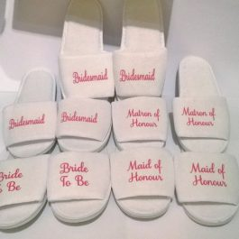 customised bridal party vests tote bags socks hangers slippers south africa (36)