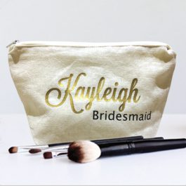 Personalised Name Bridesmaid-Make-Up-Bag