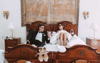 real life wedding in italy