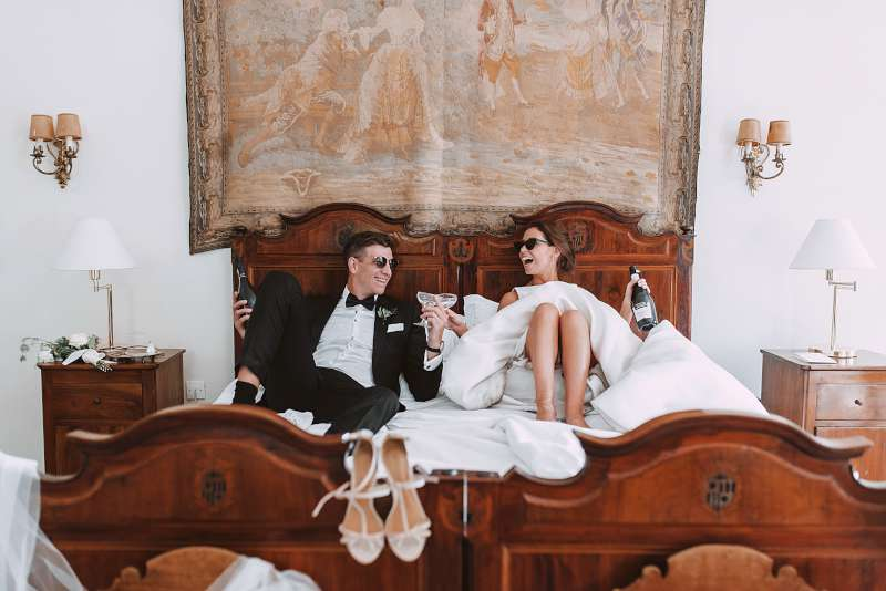 Lara & Patrick's Fairytale Wedding in Italy