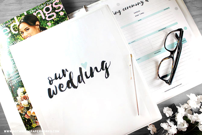 Timeline for planning your wedding