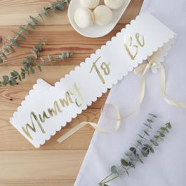 Gold-Mummy-To-Be-Sash-Babyshower