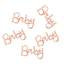Rose-Gold-Baby-Table-Confetti-Babyshower