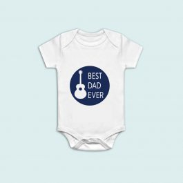 best-dad-ever-guiter-onesie-babygrow