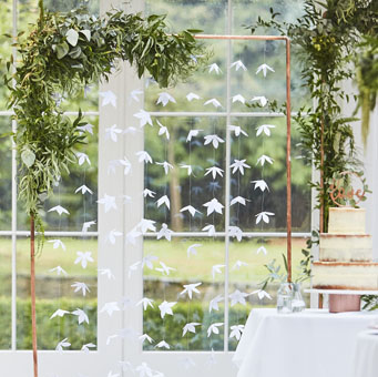 White-Origami-Flower-Back-Drop-wedding