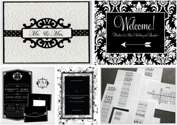 Classic Black White Wedding Theme I Do Inspirations Wedding