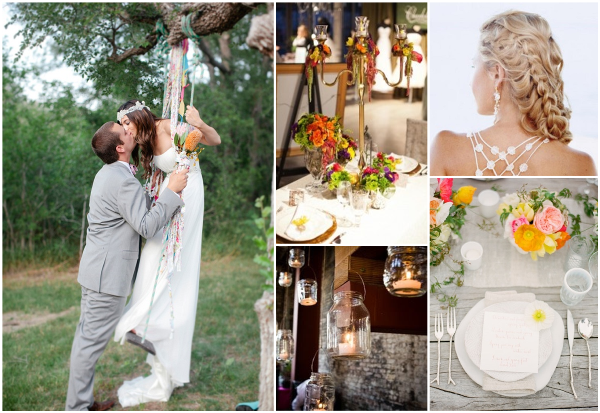 boho chic wedding inspiration 4