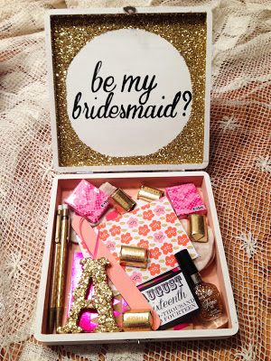 Cute Ways To Ask Someone Be Your Bridesmaid