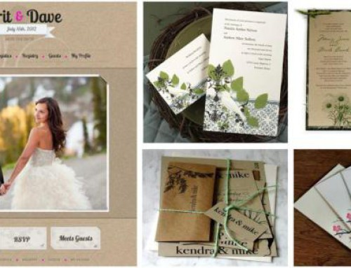 ECO-FRIENDLY WEDDING INSPIRATION