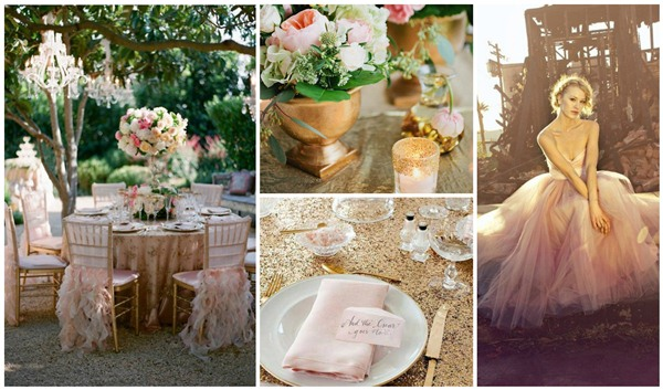 gold & blush wedding inspiration (1)