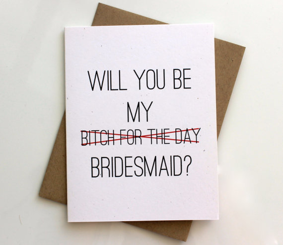 What Do You Get Your Bride For A Wedding Gift: Cute Ways To Ask Someone To Be Your Bridesmaid