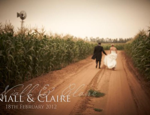 REAL LIFE WEDDING: NIALL & CLAIRE